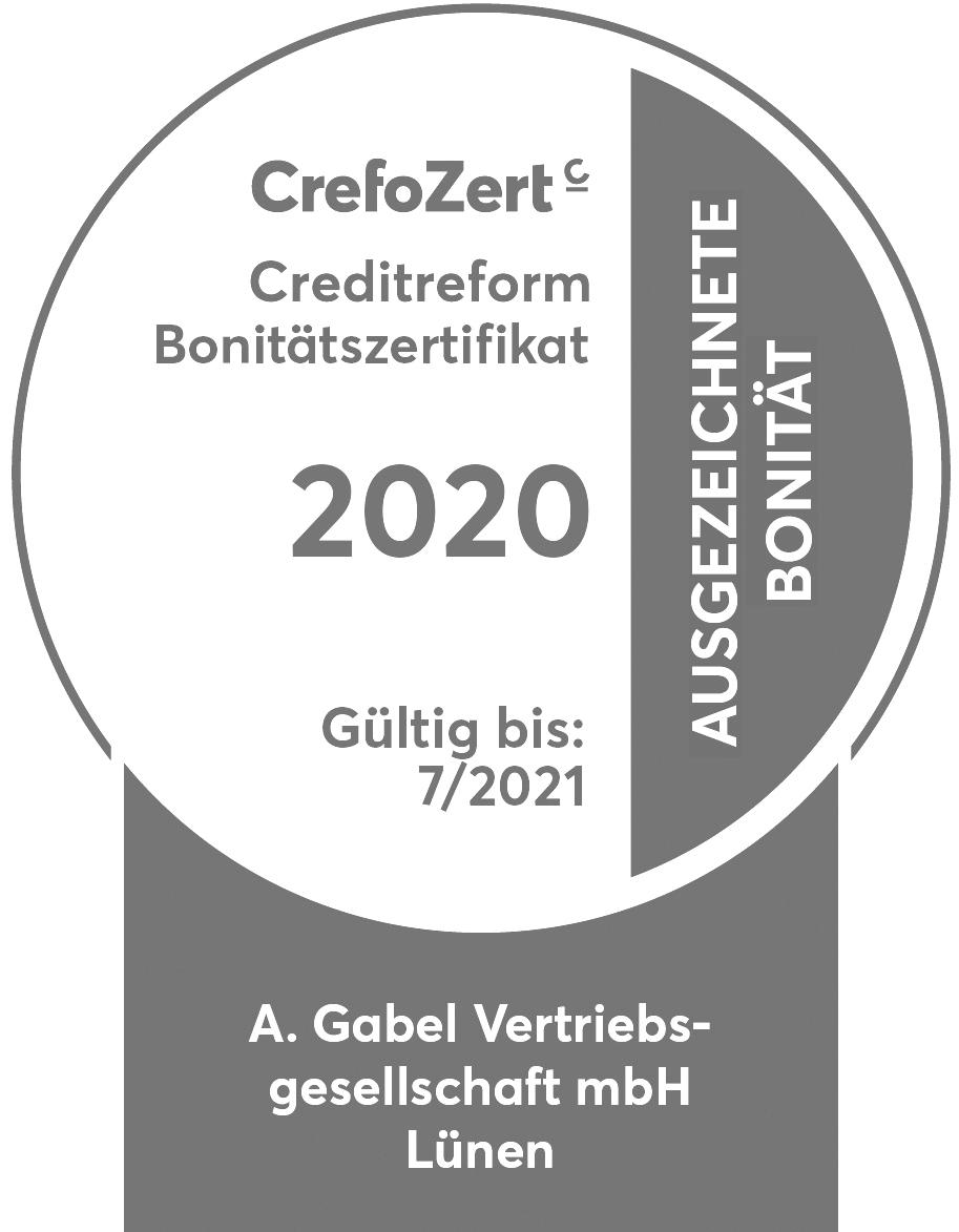 Crefo Zert Siegel